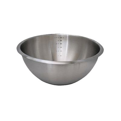 BASSINE 1/2 SPHERE INOX - Ø 16