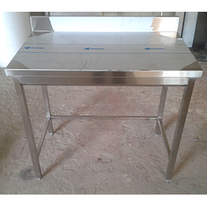 Table de cuisine inox table de cuisine for Table cuisine professionnelle inox