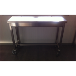 Table de cuisine mobile Inox Standard