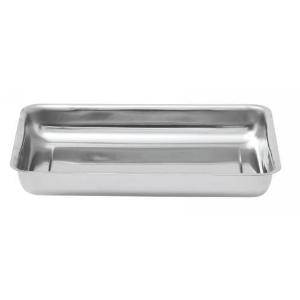 Plat à gratin inox – Rectangle